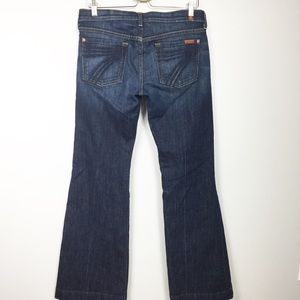 7 For All Mankind Dojo Jeans dark wash Sz 29